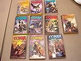 Conan 10 Vol Set:conan Manificent, Emerald Lotus, Marauder, Bold, Rogue, Treasure of Python, Amazon, Valiant, Shaman's Curse, Grim Grey God