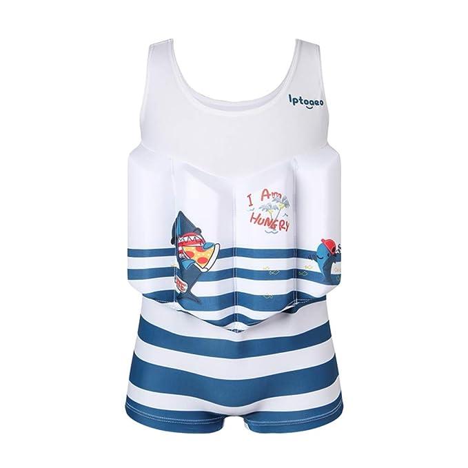 Amazon.com: BaronHong - Traje flotador para bebé con bandas ...