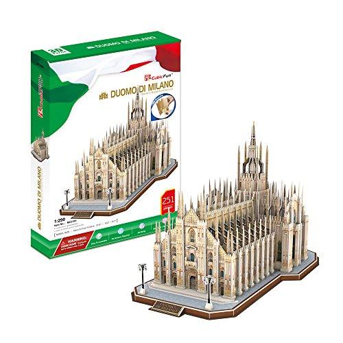 CubicFun MC210h Duomo di Milano Puzzle,251 Pieces