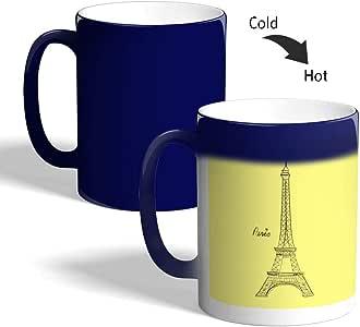 كوب سحري للقهوة أو الشاي، ماركة ديكالاك، mugM-BLU-03190