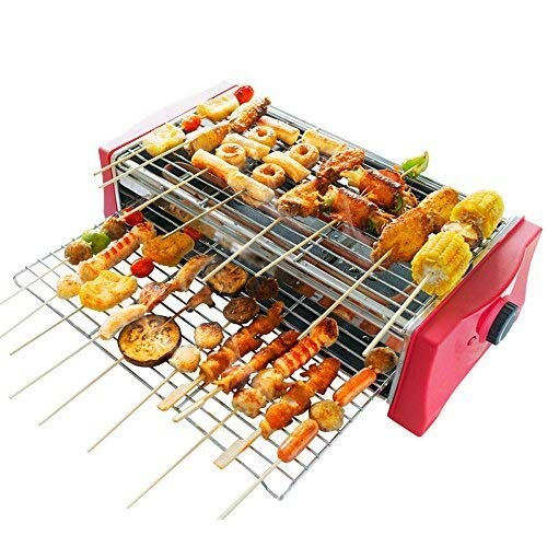 ZPWSNH Electric Grill, 2000 Watt Detachable Temperature-Controlled Non-Stick Electric Oven, Both Indoor and Outdoor Barbecue Pot by ZPWSNH