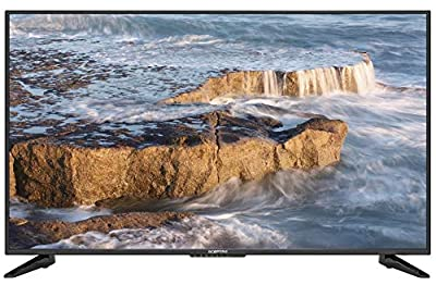 "Komodo by Sceptre 50"" 4K UHD Ultra Slim LED TV 3840x2160 Memc 120, Metal Black 2019 (KU-515)"