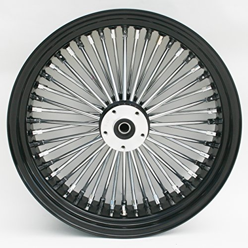 Black Chrome Harley Wheels - 6