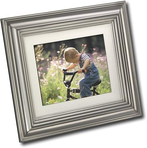 8-inch 1GB Digital Picture Frame (8 Picture Insignia Digital Frame)