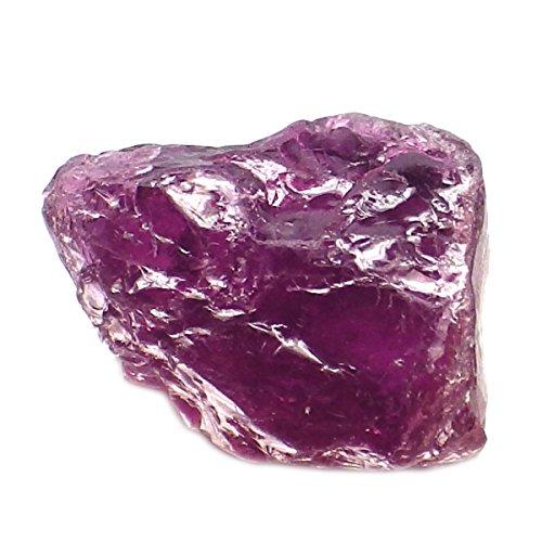 Rubellite Gemstone (2.21 Ct. Natural Rough Pink Rubellite Tourmaline Specimen Gemstone)