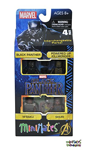 Marvel Minimates Black Panther Movie M/'Baku