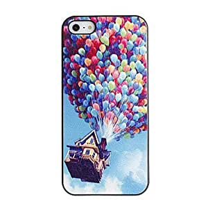 Colorful balloons model PC hard case for the iPhone 5/5 s black box