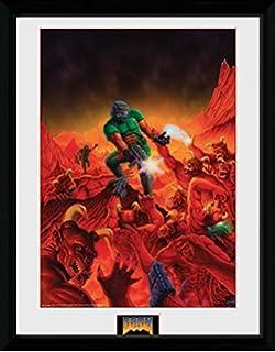 2 1art1 108386 Destiny Key Art Gerahmtes Poster F/ür Fans Und Sammler 40 x 30 cm