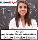 Software : Pass your Praxis Elementary Education: Multiple Subjects (15 Practice Tests)