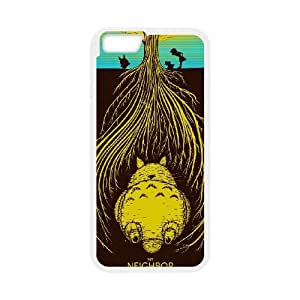iPhone 6 Plus 5.5 Inch Cell Phone Case White My Neighbor Totoro Ysle