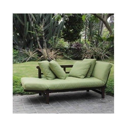studio outdoor converting patio furniture sofa couch and love seat folding lounge chair brown. Black Bedroom Furniture Sets. Home Design Ideas