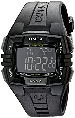 Timex Men's T49900 Expedition Rugged Wide Digital Watch - Timex Water Resistant Watch