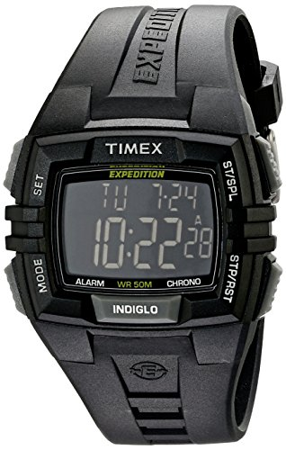 Timex Men's T49900 Expedition Rugged Wide Digital Watch (Watch Quartz Expedition)