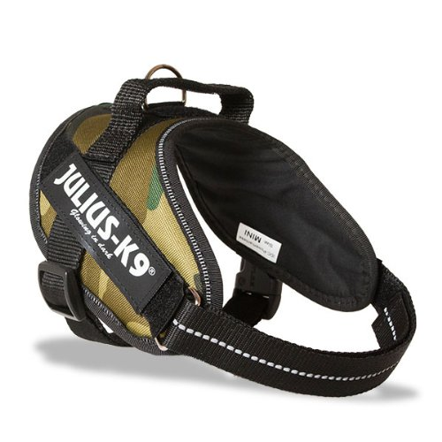 Julius-K9, 16IDC-C-MM, IDC Powerharness for Dogs, Size: Mini-Mini, Camouflage