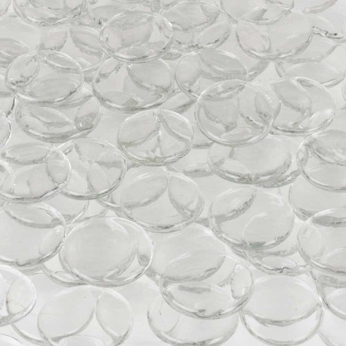 Gemnique Glass Wafer, Clear - Glasses Wafers