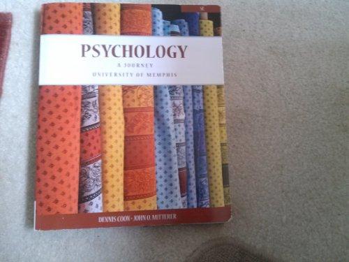 Psychology: A Journey, University of Memphis 5th Edition
