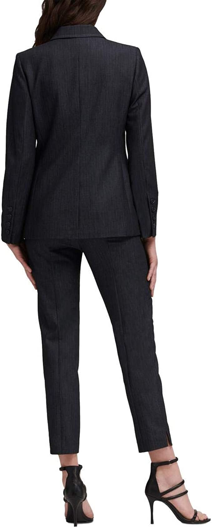 ouxiuli Womens 2 Piece Skirt Suit Set Office Slim Fit Blazer and Skirt