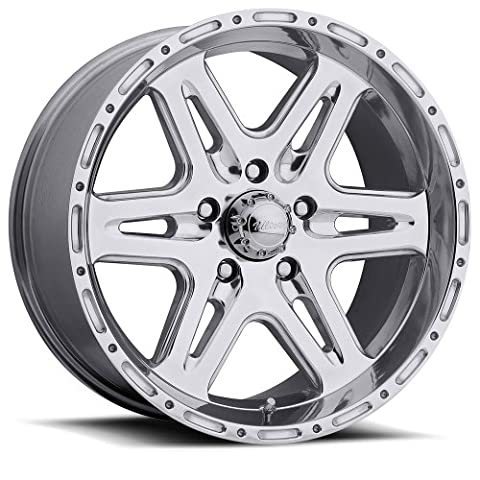 17 inch 17x9 Ultra Wheel Bandlands Polished wheel rim; 5x5.50 5x139.7 bolt pattern with a +10 offset. Part Number: 208-7985P
