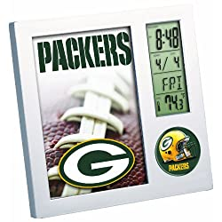 NFL Green Bay Packers Digital Desk Clock