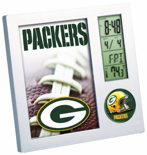 NFL Green Bay Packers Digital Desk Clock