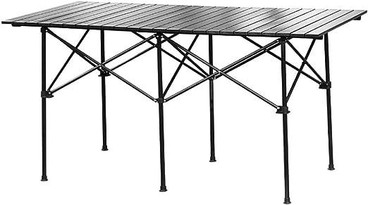 LL-ZY Mesa Plegable de y para Terraza y Jardín Muebles Salón de ...