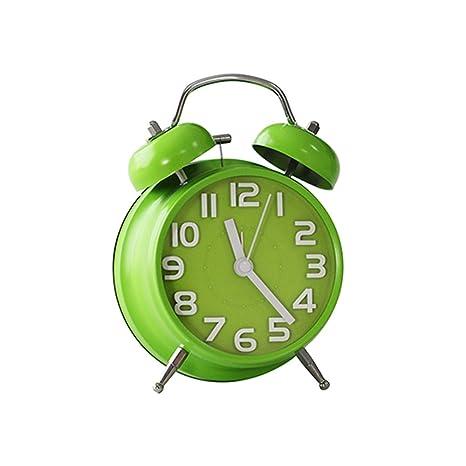 Despertador verde Mudo cabecero Estudiante creativo Luminoso ...