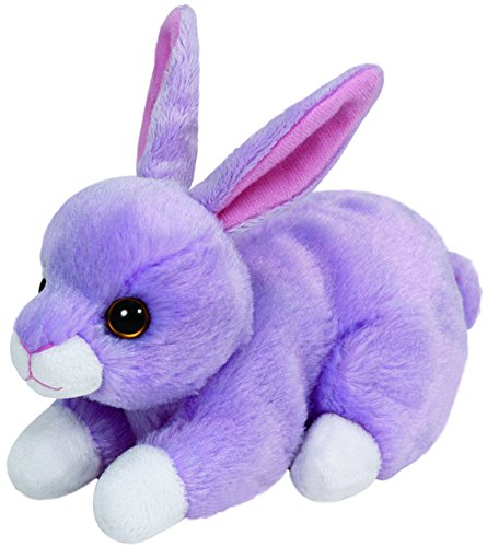 Carl etto Ty 41702Lilac Beanie Babies Limited Easter Rabbit 15cm Purple
