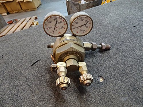 Victor GD30 Brass Pressure Regulator w/ Dual 5000 PSI US Gauges from Victor