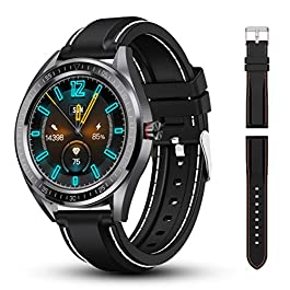 Smart Watch Fitness Tracker 1.4″ Touch Screen, Fitness Step Counter, Activity Tracker with Heart Rate Monitor, IP68 Waterproof Watch for Women and Men