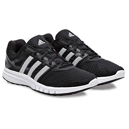 adidas Performance Men's Galaxy 2 M Running Shoe Black/Black/White 13 M US