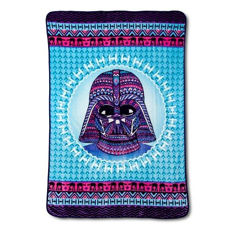 Star Wars Girls Large Plush Blanket 62 in. x 90 in. (Fits Twin Size Beds)