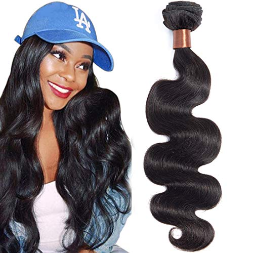 Angie Queen Hair Brazilian Hair Body Wave 1 Bundle 28inch 100g Unprocessed Brazilian Body Wave Virgin Human Hair Natural Black Brazilian Human Hair Weaves from Angie Queen