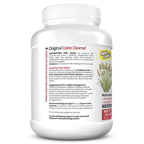 Health Plus Colon Cleanse, Regular Jar, 48 Ounce