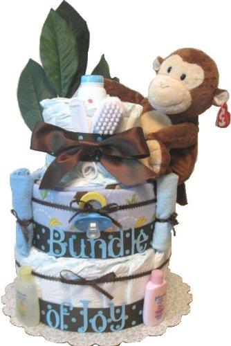 Monkey Diaper Cake ()