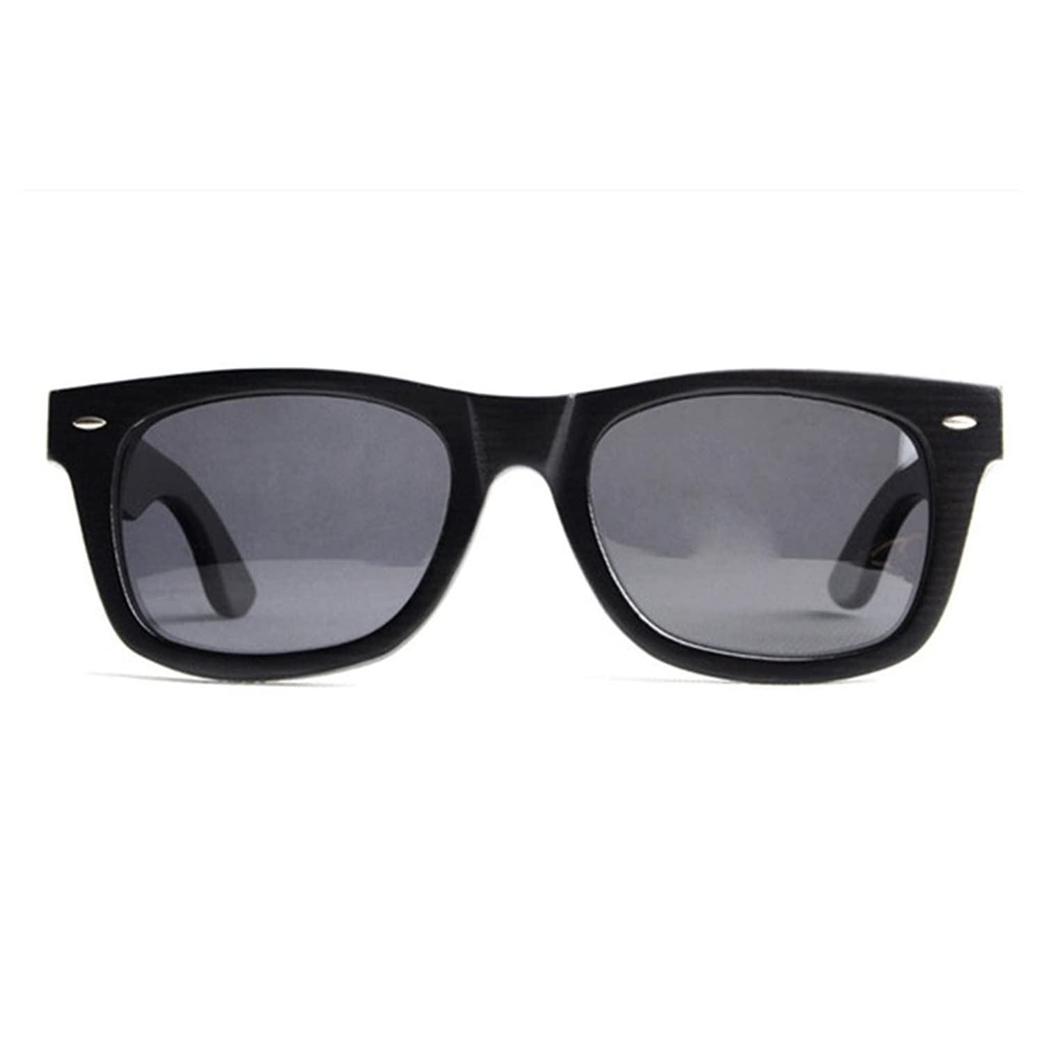 All Black Wayfarer - Wooden Sunglasses - Zebidah