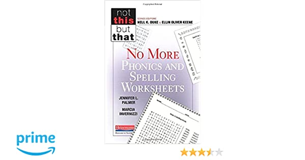 Counting Number worksheets math go worksheets : Amazon.com: No More Phonics and Spelling Worksheets (Not This But ...