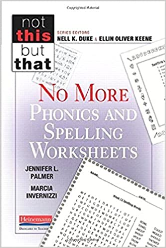 Workbook free phonics worksheets : Amazon.com: No More Phonics and Spelling Worksheets (Not This But ...