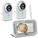 VTech VM341-2 Safe&Sound Full Color Video Monitor with two cameras