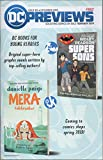 : DC Previews, no. 8 (December 2018): Danielle Paige's Mera Tidebreaker; Ridley Pearson's Super Sons; Female Furies, with Big Barda; Heroes in Crisis; Wonder Twins; Rise of Leviathan; Aquaman; Batman