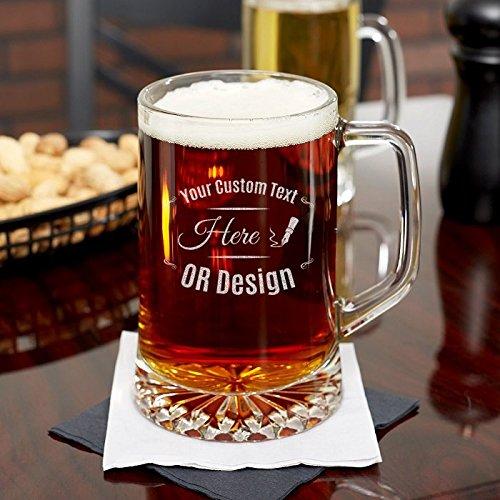 Personalized Beer Mug 23 oz