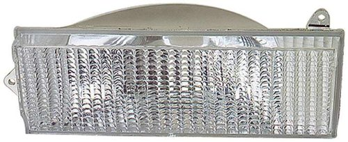 Depo 333-1602L-US Jeep Cherokee Driver Side Replacement Parking/Signal Light Unit without Bulb (Jeep Wagoneer Parking Light)