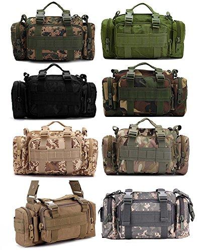 Camouflage Bolso Para Militar De Libre Táctico Riñonera Jungle Al Polivalentes Deporte Senderismo Marrón Hombres Aire Hombro 6wSqx6PF