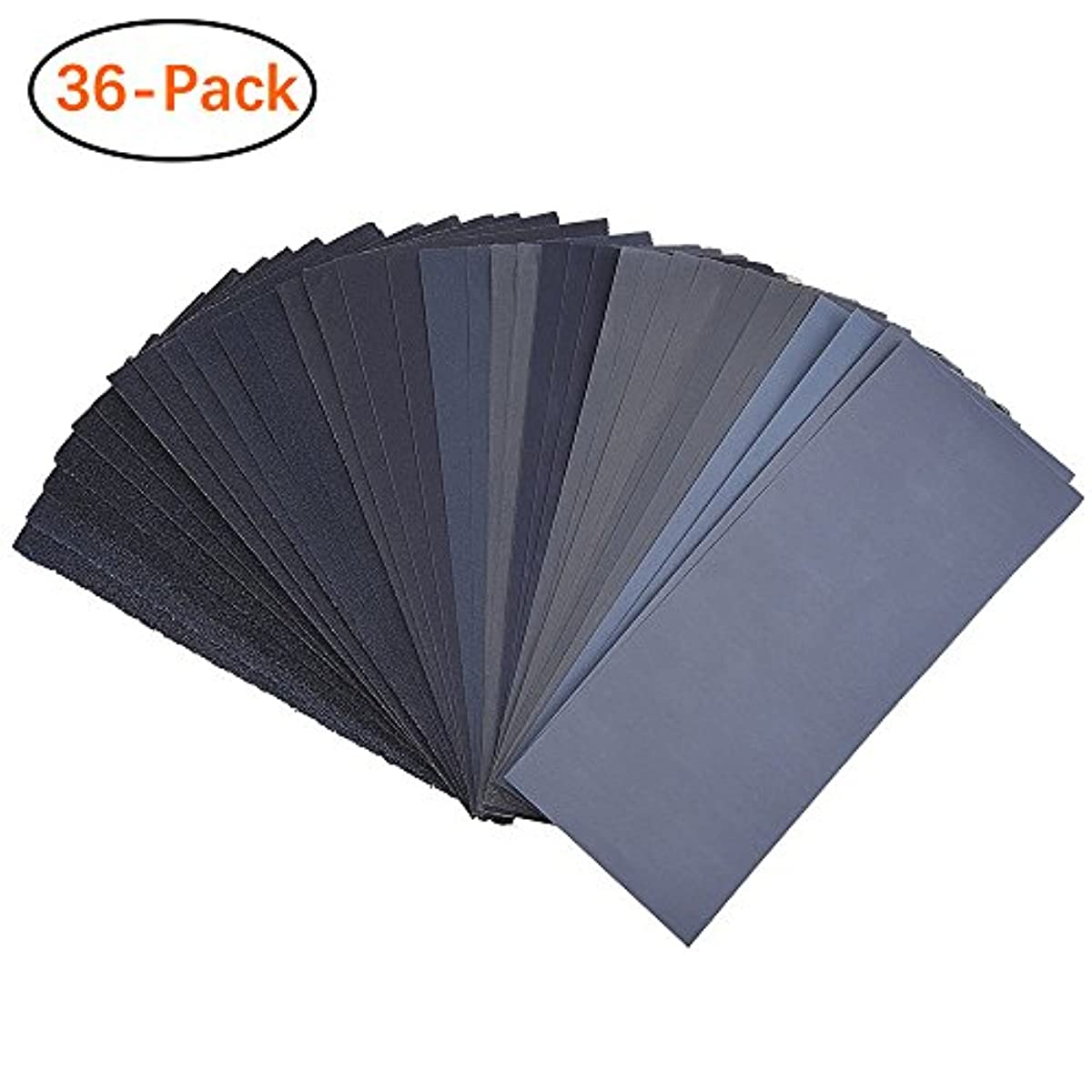 Sandpaper For Metal >> Details About 120 To 3000 Assorted Grit Sandpaper For Wood Furniture Finishing Metal Easy Iden