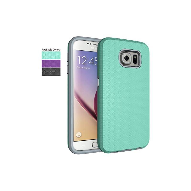 Galaxy S6 Case,NiuBox Slim Fit Dual Laye