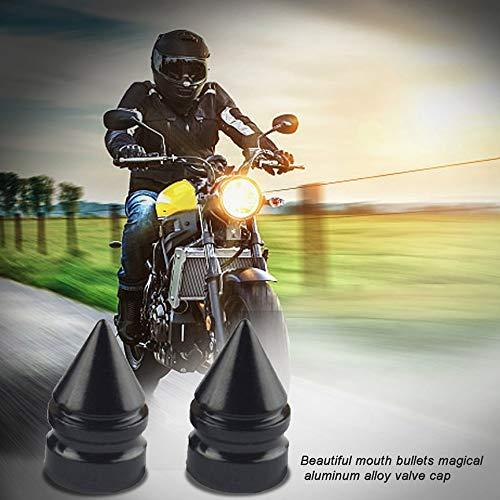 Bouchons de Valve pour pneus de Roue de Voiture Peanutaoc Pointes de Valve Pointes Pointes Pratique pour Moto