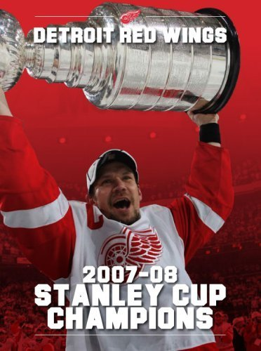 Detroit Red Wings 2007-08 Stanley Cup Champions by Bill Roose, Lindsey Ungar, Michael Caples, Derek Gluth, Kevi (2008) Perfect Paperback