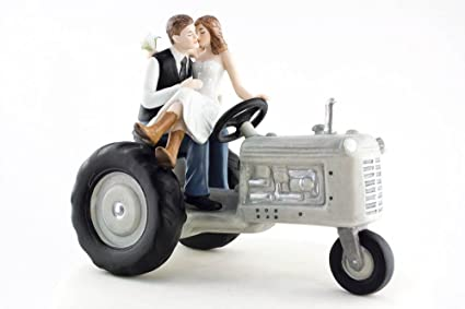 Farm Cake Toppers Farm Wedding Cake Toppers With Tractor Topper Farm ...