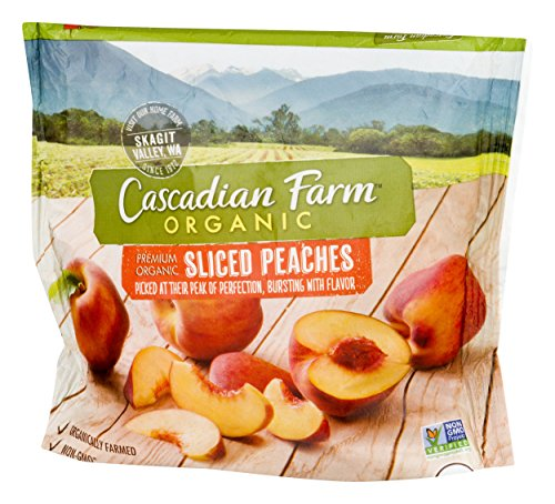 (Cascadian Farm, Sliced Peaches, Organic, 10 oz (Frozen) )