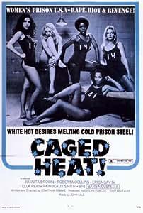 amazoncom caged heat poster 27x40 juanita brown erica