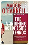 The Vanishing Act of Esme Lennox by Maggie O'Farrell front cover